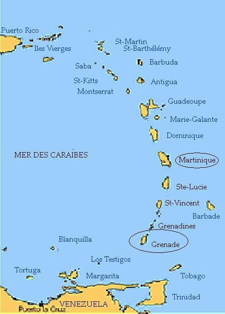 Nous avons quitté ce matin l'île de Grenade pour entamer tranquillement not…