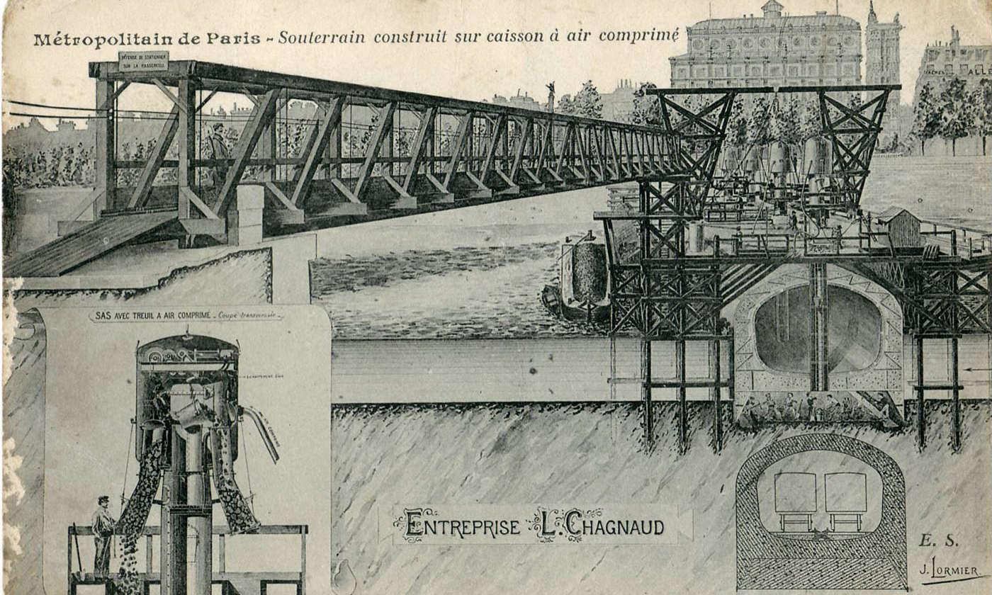XIXe siècle, la maladie des caissons – Plongée Infos